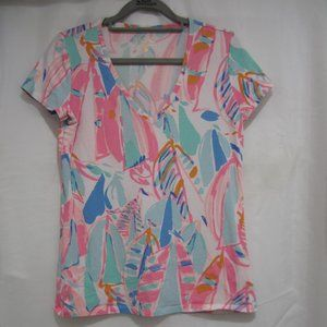 Lilly Pulitzer S Michelle Shirt Out To Sea